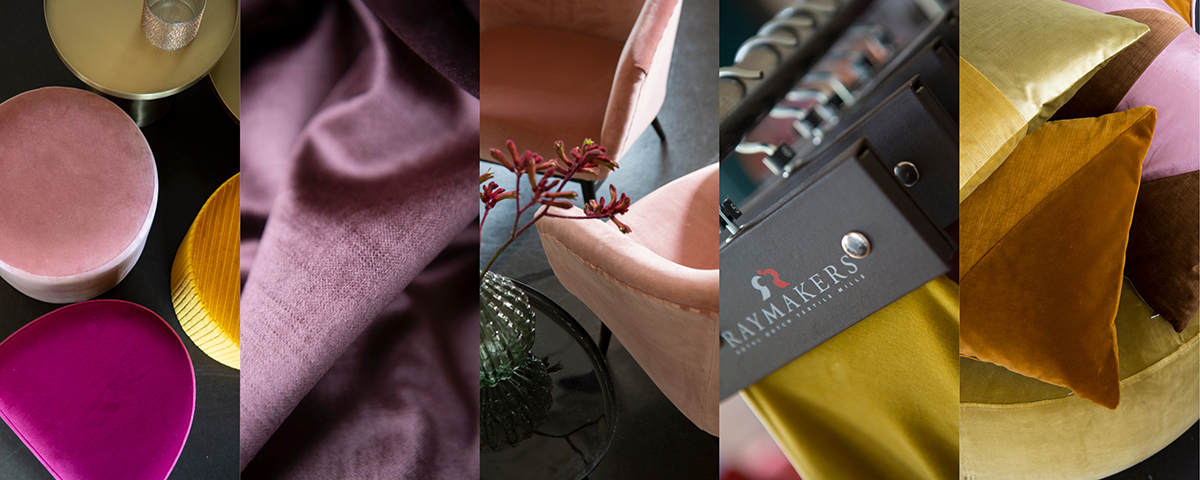 Raymakers velvet multi colour