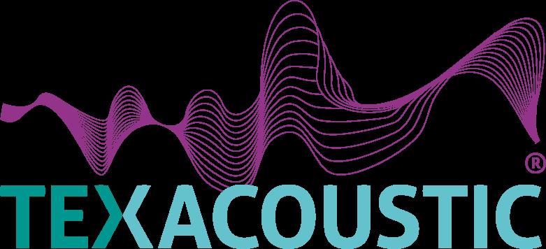 Logo texacoustic acoutic textile
